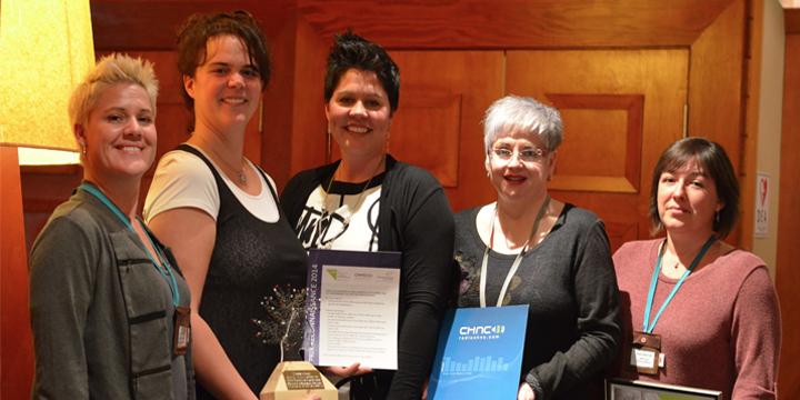 Magalie Pouliot reçoit le Prix Reconnaissance de Femmessor !