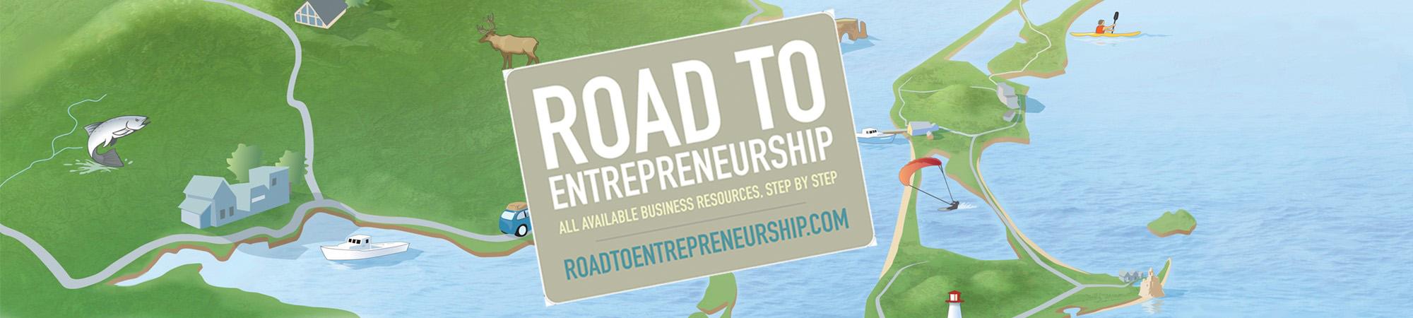 La route de l'entrepreneur